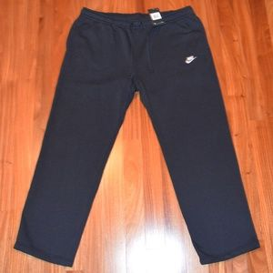 Nike black fleece sweatpants size 4XL